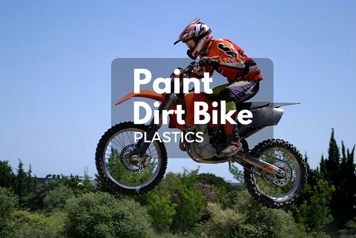 How to Paint Dirt Bike Plastics